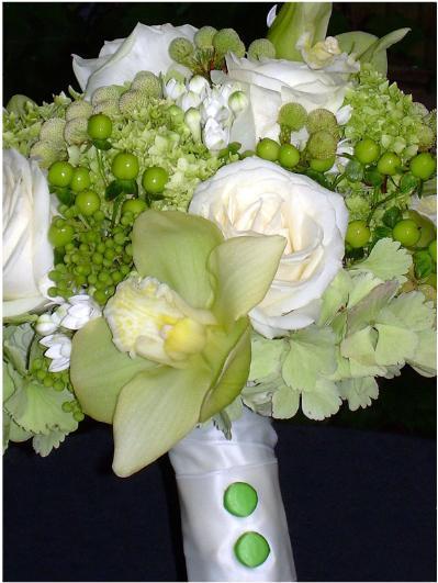 Цветы свечи декор