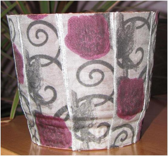 Декор интерьера тканью