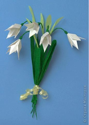 Цветы в оригами