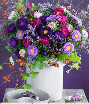 Яркие цветы – лекарство от осенней депрессии