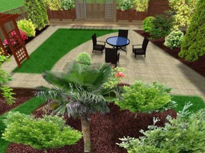 Идеи обустройства маленького сада