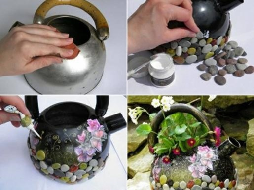 Необычные цветочные горшки своими руками