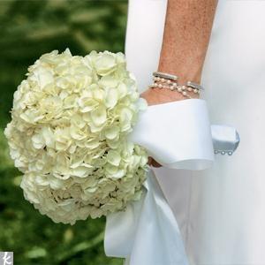 Свадебный букет с гортензией, картинки