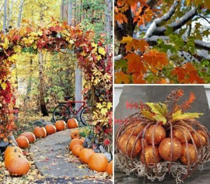 Осенний декор садов