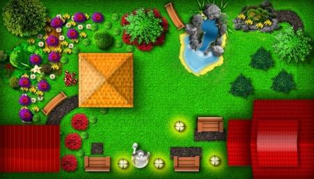 Проект «Создай свой ландшафт». Эксклюзивно на Ваш Сад!