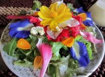 Цветочные деликатесы