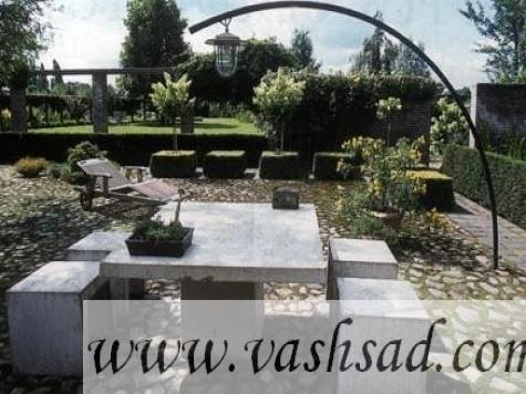 Галерея ландшафт современный сад
