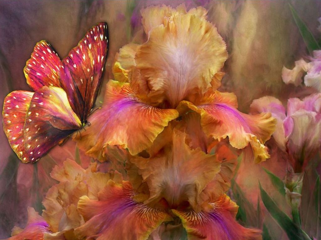 Картинки фантастических цветов 5