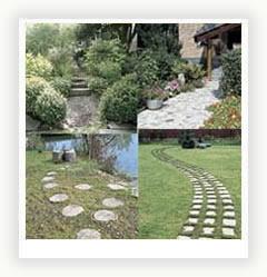 Садові доріжки необхідний атрибут